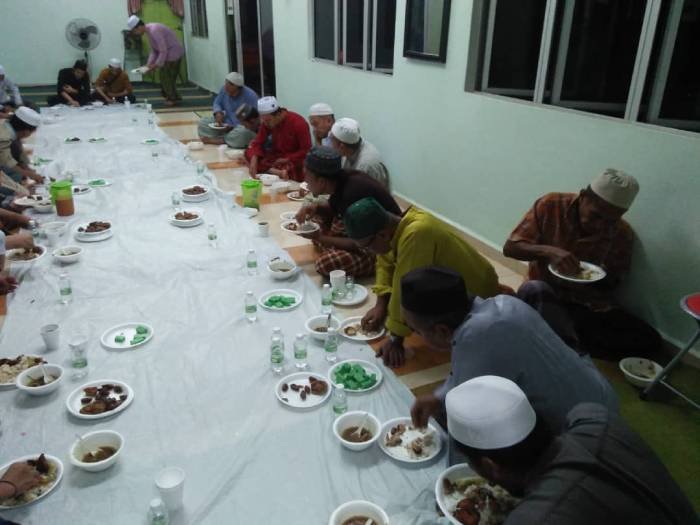 Seasonal Project – Iftar at Masjid Abu Dzar 2019