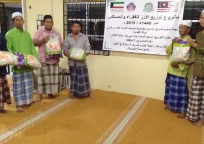 RICE 2019 - Distribution at Masjid Asma Abu Bakar (2)