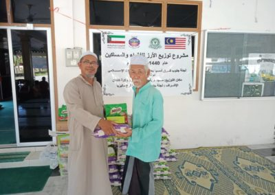 RICE 2019 - Distribution at Masjid Kg Huda (3)