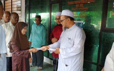 Zakat Distribution at al-Khairiah Office