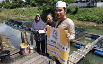 Zakat Distribution – Capital for Buying Fish and Repair