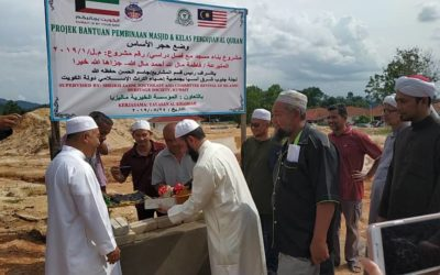 Mosque Construction Project in Machang