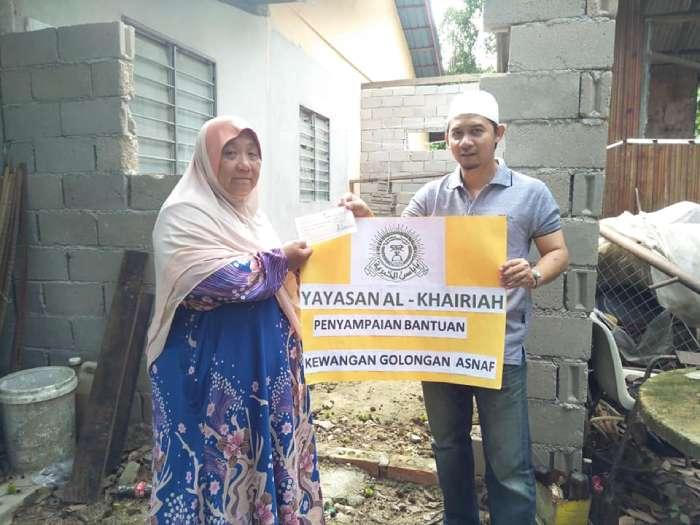 Zakat Distribution – Sewing Machine Workshop