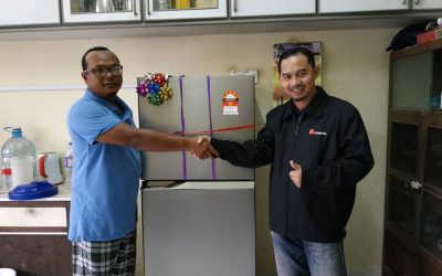 Zakat Distribution – Refrigerator for Brother Izuan Lee