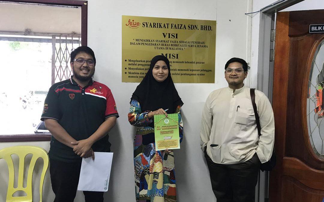 RICE 2019 – Cooperation with Syarikat Beras Faiza Sdn Bhd