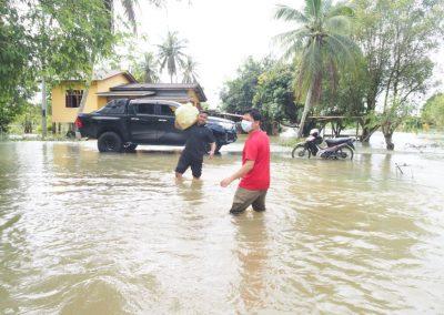 update jan 2021 - bantuan banjir Lubuk Jong 7