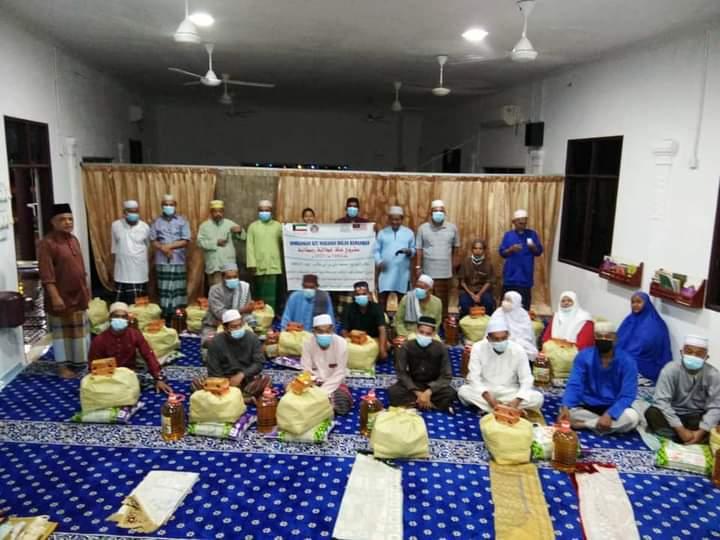 Distribution of 1,149 Food Kit